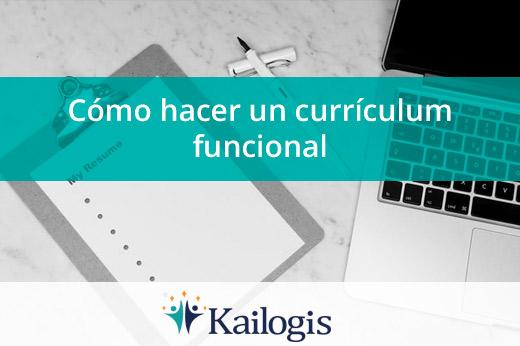 Cómo hacer un currículum funcional